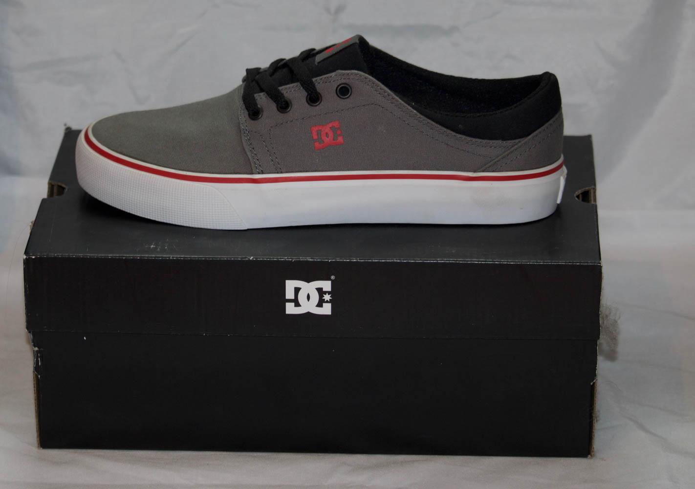 DC Shoes Trase TX grey/black Size 10