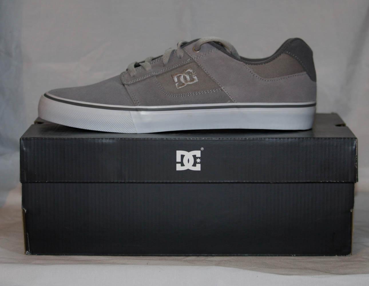 DC Shoes Bridge wild dove/grey Size 7
