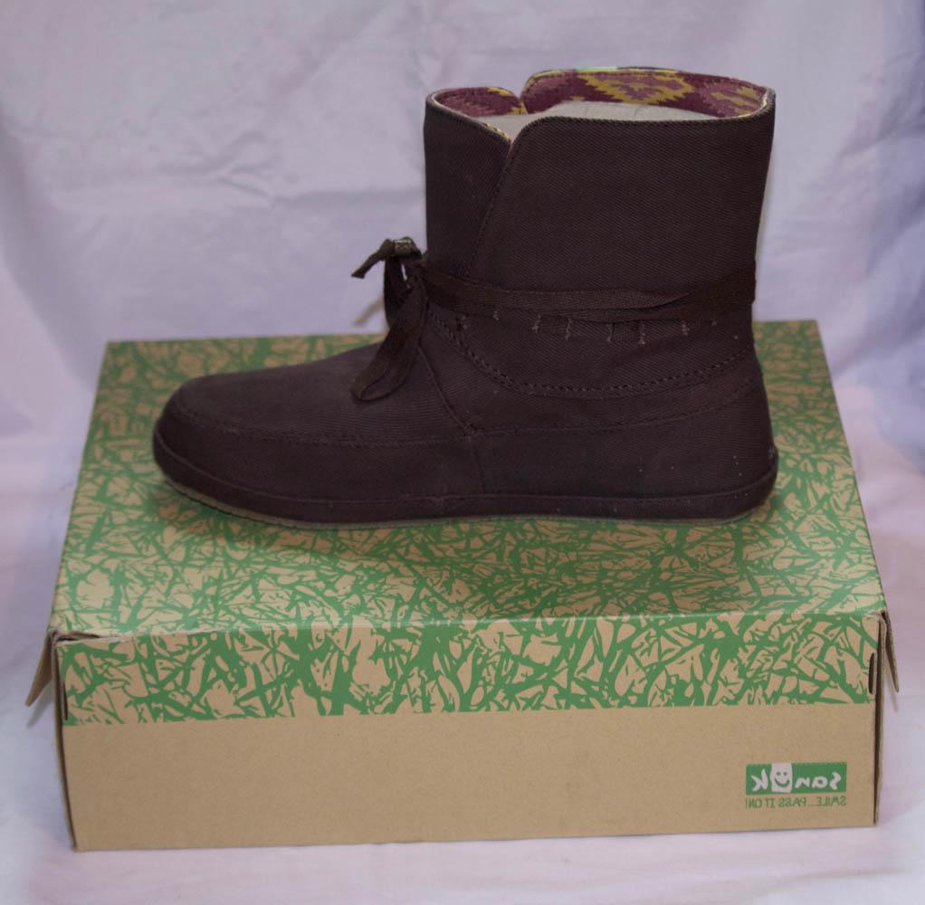 e6dcdf1d2523 Sanuk Shoes Soul Shine Sally dark brown Size 7 - Wheels N Waves